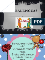 Trabalenguas Lenguas