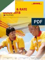 Dhl Express Rate Transit Guide Ph En