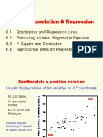 Chapter 6 Bivariate Regression & Correlation