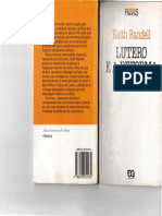 Lutero e a Reforma Alema. Keith Randell