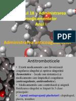 1. Anticoagulante, HHC