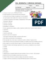 Evaluacion Organizacion Politica y Forma de Participacion