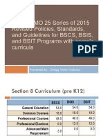 Ched Cmo 25 s 2015 BSCS BSIS BSIT With Sample Curricula