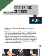 3. El Estudio de Las Organizaciones