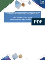 15-Fase 5-Estructura Del Manual de Calidad-IsO9001-2015 Aporte Victor