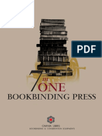 The 7 in One bookbinding press