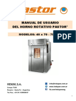 Manual Operativo Pastor 45x70 - 70x90 2016