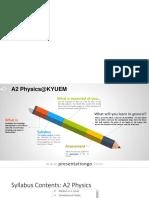 A2 Physics MIF