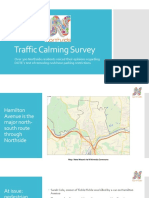 2018 Northside Traffic Calming Survey Results FINAL