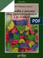 Vattimo Gianni - Filosofia y poesia.pdf