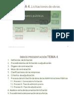 Tema 4.1 Licitaciones de Obras (1)