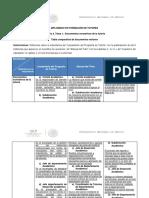 5.1.1. Tabla Comparativa de Documentos Rectores