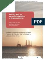 Catálogo Virtual de Fornecedores Da Cadeia Produtiva Do Petróleo, Gás e Energia No Estado de Minas Gerais