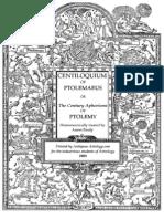 Centiloquium of Ptolemy