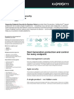 Endpoint Security Select Datasheet