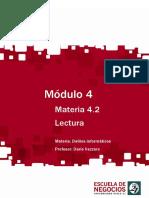 Lectura - Delitos Informáticos 2013