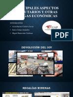 Principales Aspectos Tributarios y Otras Cargas Económicas