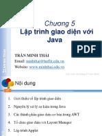 Chuong5-LapTrinhGiaoDienVoiJava