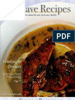 Weeknight Dinners Cookbook 091608