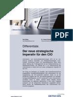 Differentiate. Der neue strategische Imperativ für den CIO (Detecon Executive Briefing)