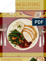 Thanksgiving Dinner Recipes 101708