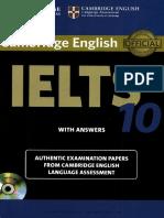 Cambridge IELTS 10 eBook