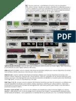 Puertos y Conectores de Un PC