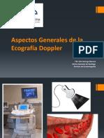 Aspectos Generales de la Ecografía Doppler