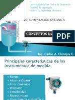 Conceptos Básicos Instrumentación 2011