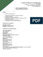 CV - Caique Domiciano Rodrigues - Área Operacional