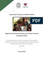 Fomento de la Lectura Primera Infancia Programa de Formación Educación Infantil.pdf