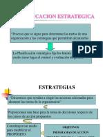 Definiciones Conceptuales de Planificacion Estrategica
