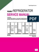 ServiceManuals LG Fridge GRB207NI GR-B207NI Service Manual