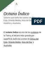 Océano Índico - Wikipedia, La Enciclopedia Libre