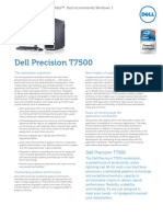 Dell Precision T7500 Spec Sheet En
