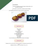 Cupcakes de Manzana Con Nueces