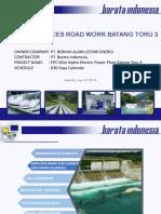 Methode Kerja Acces Road