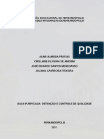 ÁGUA PURIFICADA OBTENÇÃO E CONTROLE DE QUALIDADE .pdf