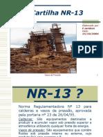 Cartilha NR 13
