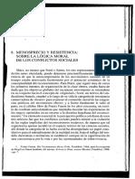 Axel Honneth - Menosprecio y Resistencia. Sobre La Lógica Moral de Los Conflictos Sociales