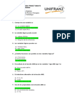 Cuestionario Sistemas Digitales Joaquin Romero