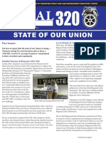STATE OF OUR UNION Teamsters Local 320 June 2018