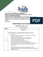 Plan de Actividades Desarrollo Gerencial PDF
