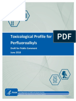 Toxicological Profile for Perfluoroalkyls