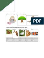 evaluacion ciencias naturales