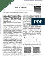 Multilevel Multifactor Designs for MultivariateCalibration