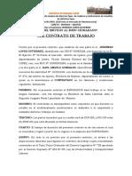 Carta Aval - Contrato de Trabajo