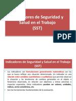 Indicadores SST