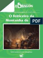 Old Dragon - Homeless Dragon [NHD_035] - O Feiticeiro Da Montanha de Fogo - Biblioteca Élfica