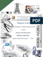 Principales Centrales Termicas en El Peru